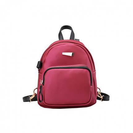 Рюкзак женский Adel XS красный eps-8182, фото 2