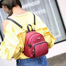 Рюкзак женский Adel XS красный eps-8182, фото 3