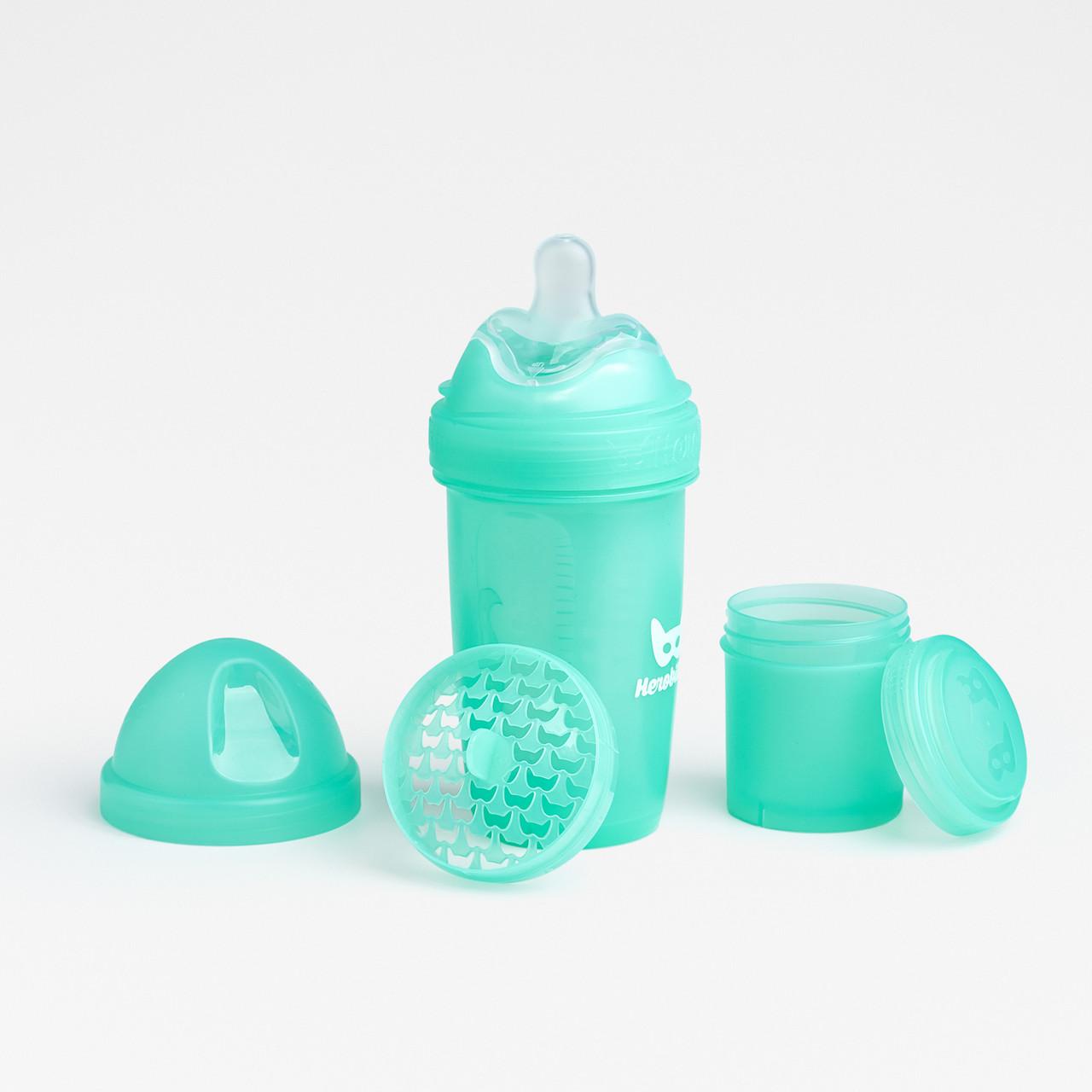Herobility - Бутылочка Herobottle 240 ml, цвет бирюзовый