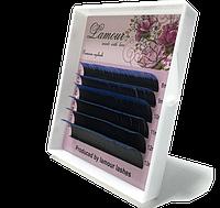 Ресницы С Цветными Кончиками (Синие) 6 Линий