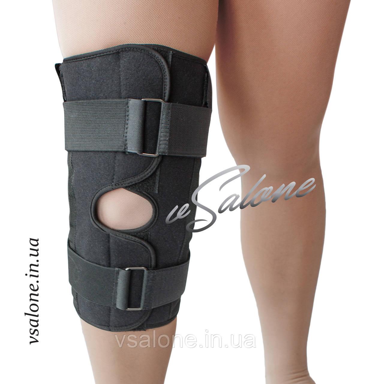 Бандаж коленного сустава разъемный размеры 5,6 Алком 3052