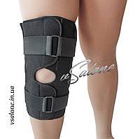 Бандаж колінного суглоба роз'ємний розміри 5,6 Алком 3052
