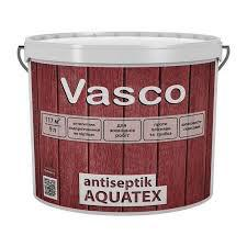 Vasco antiseptik AQUATEX 9 л. белый