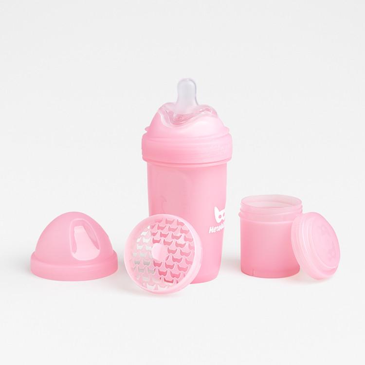 Herobility - Бутылочка Herobottle 240 ml, цвет розовый