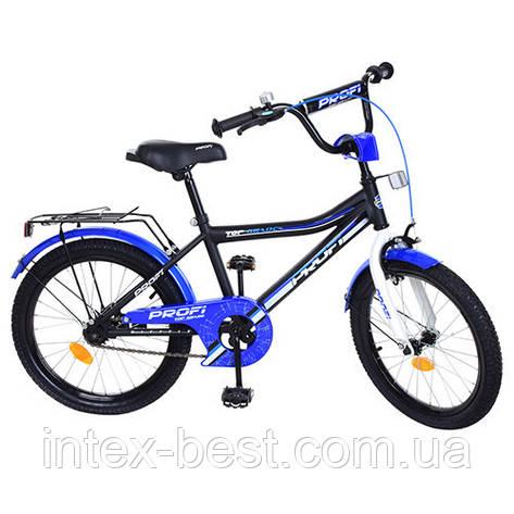 """Двухколесный детский велосипед PROFI Top Grade 20"""" (Y20101) с подножкой, фото 2"""