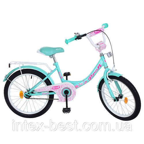 """Двухколесный велосипед PROFI Princess 20"""" (Y2012) с подножкой"""