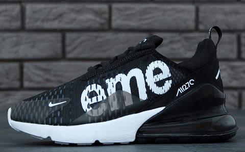 Кроссовки Nike Air Max 270 SUPREME black. Живое фото. Топ реплика ... 9cc97ee53d0
