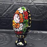 Яйцо Пасхальное на подставке, ручная роспись, фото 3