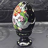 Яйцо Пасхальное на подставке, ручная роспись, фото 4