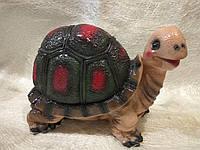 Садовая фигура Черепаха цветная большая