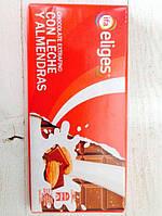 Шоколад молочный Ifa Eliges з миндалем 150 гр, фото 1