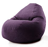"Кресло-мешок овал ""Комфорт"" Микро-рогожка, фото 4"