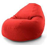 "Кресло-мешок овал ""Комфорт"" Микро-рогожка, фото 7"