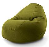 "Кресло-мешок овал ""Комфорт"" Микро-рогожка, фото 8"