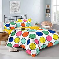 Семейный комплект постельного белья 150*220  из сатина Твистер