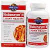 Wobenzym, N, здоровье суставов, 200 таблеток, покрытых желудочно-резистентной оболочкой