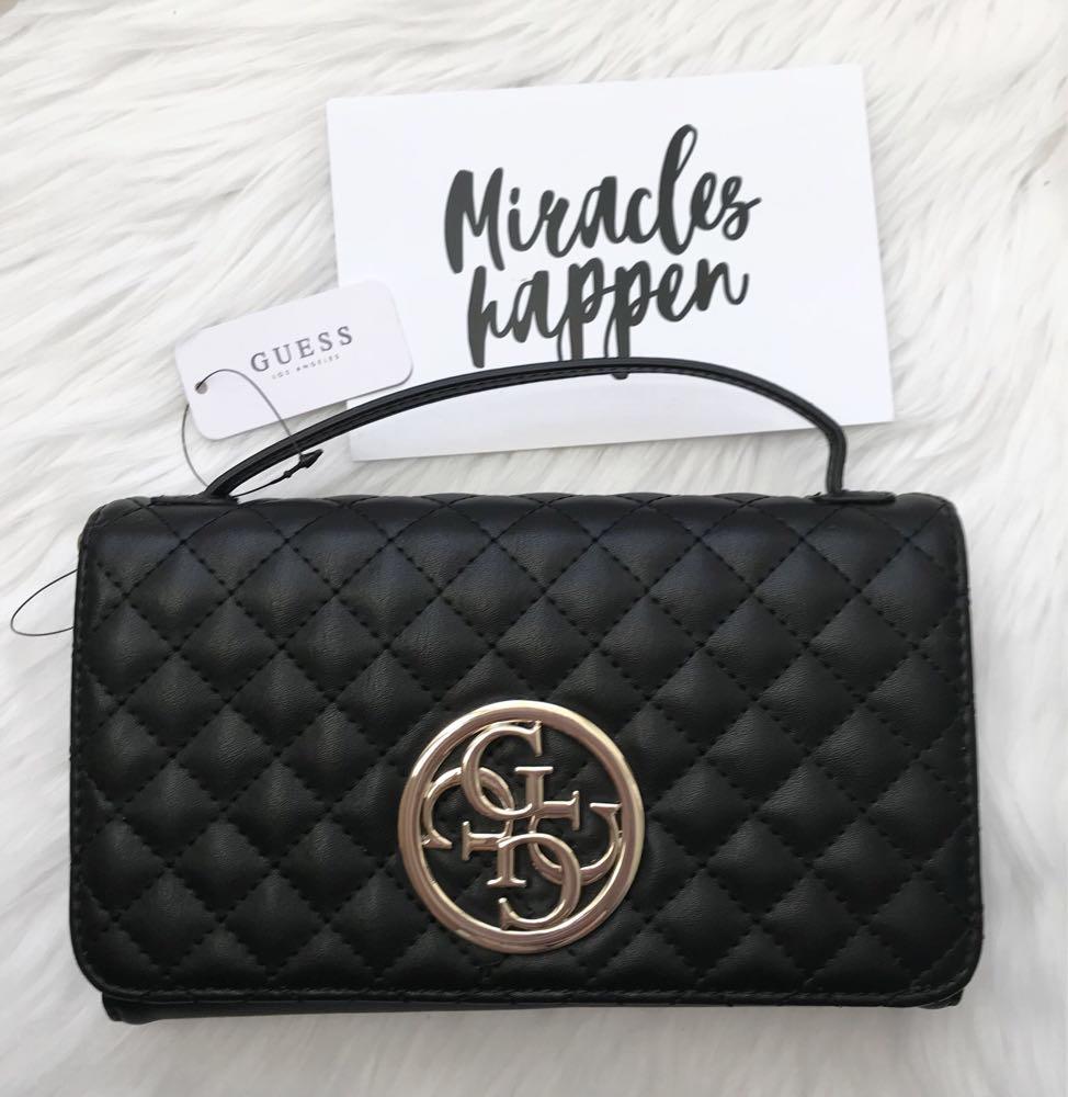 8360d662 Черная сумочка - клатч Guess оригинал , цена 2 200 грн., купить в ...