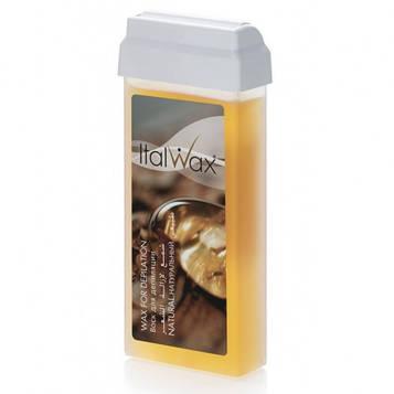 Воск для депиляции в кассете (в картридже) Натуральный ItalWax (Италия) 100мл