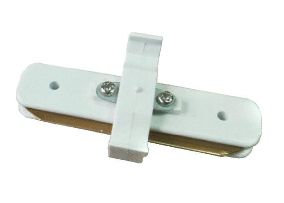 Коннектор линейный Ultralight однофазный белый
