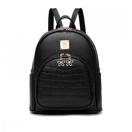 Рюкзак женский Amelie черный, фото 2