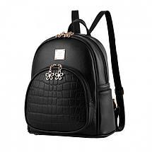 Рюкзак женский Amelie черный, фото 3