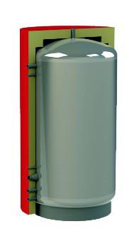 Акумулююча ємність (тепловий акумулятор, буферна ємність) Kuydych KHT EAM-00-800