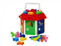 Развивающие и обучающие игрушки «ТехноК» (2438) Умный малыш. Домик
