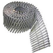 Гвозди винтовые в бобине диаметр 2.5; 2.8; 3.1 мм. длина 60. 78. 88. 90 мм. круглая плоская шляпка