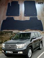 Коврики на Toyota Land Cruiser 200 '07-12. Автоковрики EVA