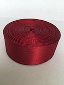 стрічка 5 см - колір червоний 02