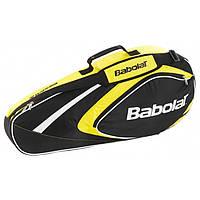 Чехол для теннисных ракеток Babolat X3 CLUB Черный/Желтый