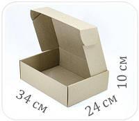 Коробка микрогофрокартон 34х24х10 см