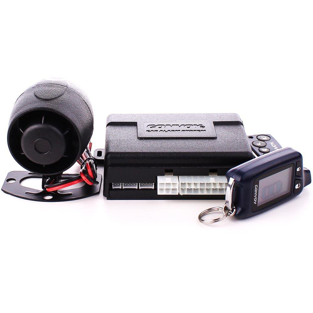Двусторонняя сигнализация Convoy MP-180D v.2 LCD