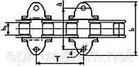Цепи роликовые длиннозвенные для транспортеров и элеваторов ГОСТ 4267-78