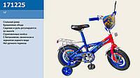 "Велосипед 2-х колес 12"" 171225 со звонком, зеркалом,без ручного тормоза"