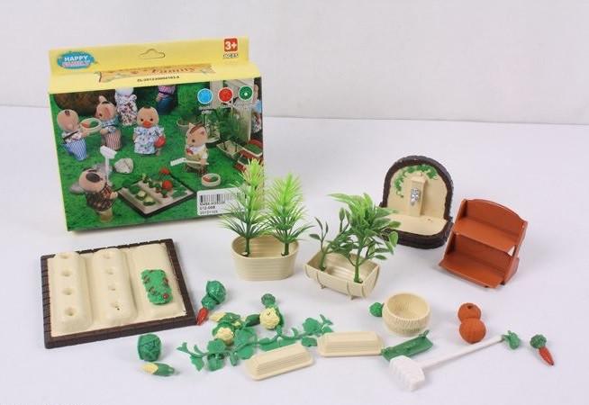 Набор Огород для флоксовых животных Happy Family 012-06B (аналог Sylvanian Families)