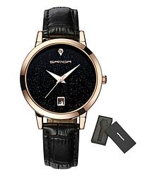 Женские часы Sanda P194 Black