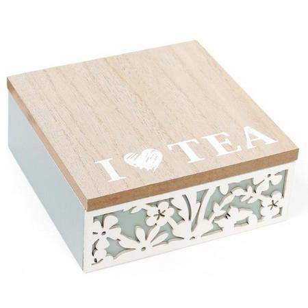Коробка для хранения чая и сладостей, 4 секции