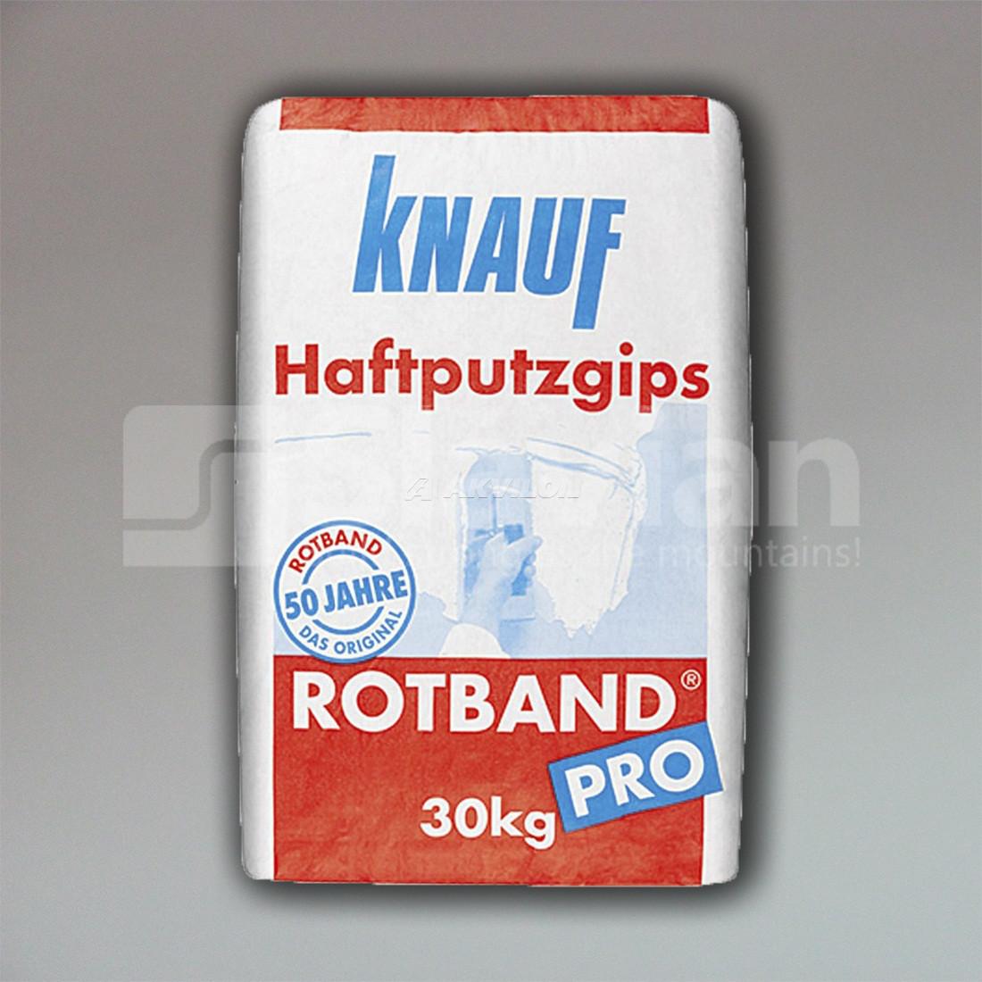 Штукатурка гипсовая универсальная knauf rotband pro, 30кг, цена 142