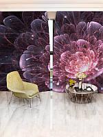Фотошторы цветы142х270 2шт(1234_4_1)