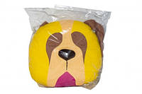 ПРОСТАР Подушка-сплюшка животное хлопок Собака №6 ПРО-12 (желтая)