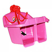 Игровые площадки «ТехноК» (3015) Качели Малыш, розовые