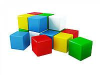Развивающие и обучающие игрушки «ТехноК» (1691) Набор кубиков Радуга 2, (15 шт.)