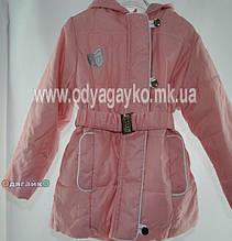 Куртка весна для дівчинки Luxik Одягайко 2084 32