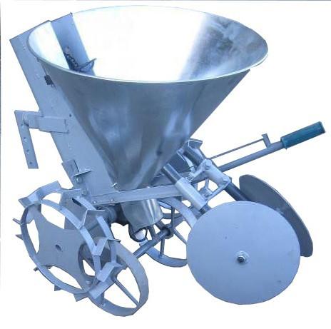 Картофелесажалка цепная Ярило с транспортными колесами