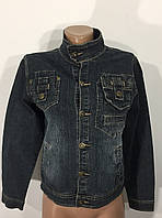 Джинсовый пиджак женский Стойка