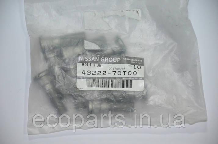 Шпилька колесная задняя Nissan Leaf, фото 2