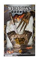 Рыцарский набор 333-30 меч и доспехи,на планшетке 64*39*5см