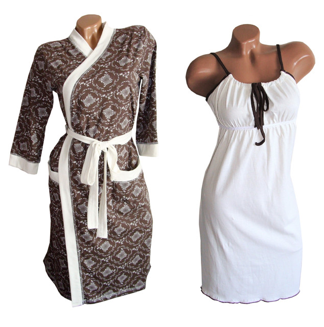 Халаты, сорочки, комплекты для кормящих