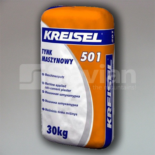 Штукатурка Kreisel KALKZEMENT-MASCHINENPUTZ 501, 30кг